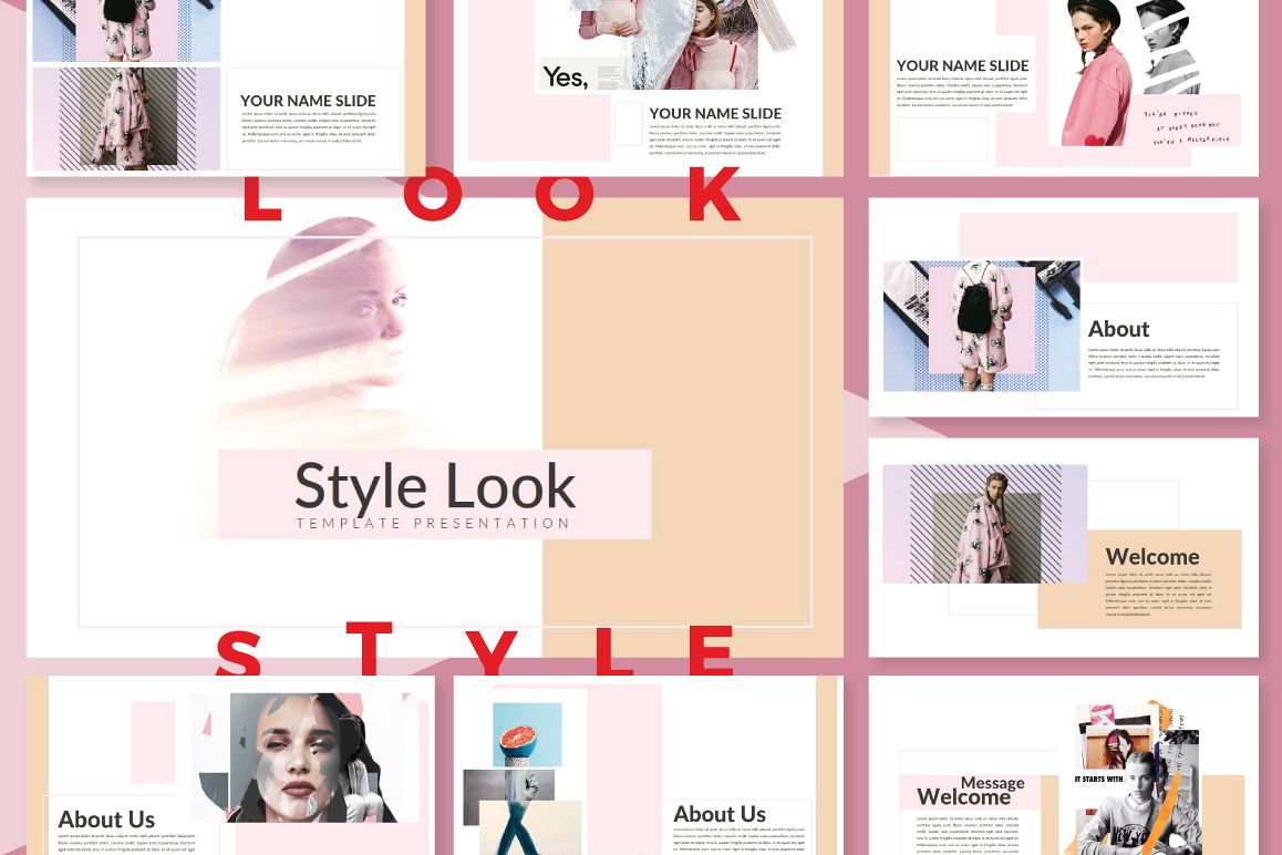 LookStyle Keynote Template example image 1
