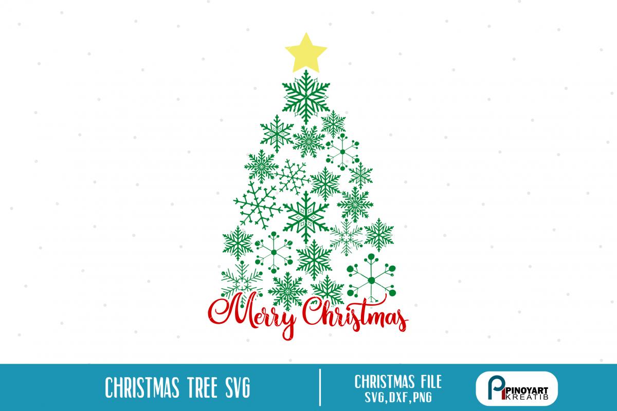 Christmas Tree Svg Christmas Tree Svg File Christmas Svg