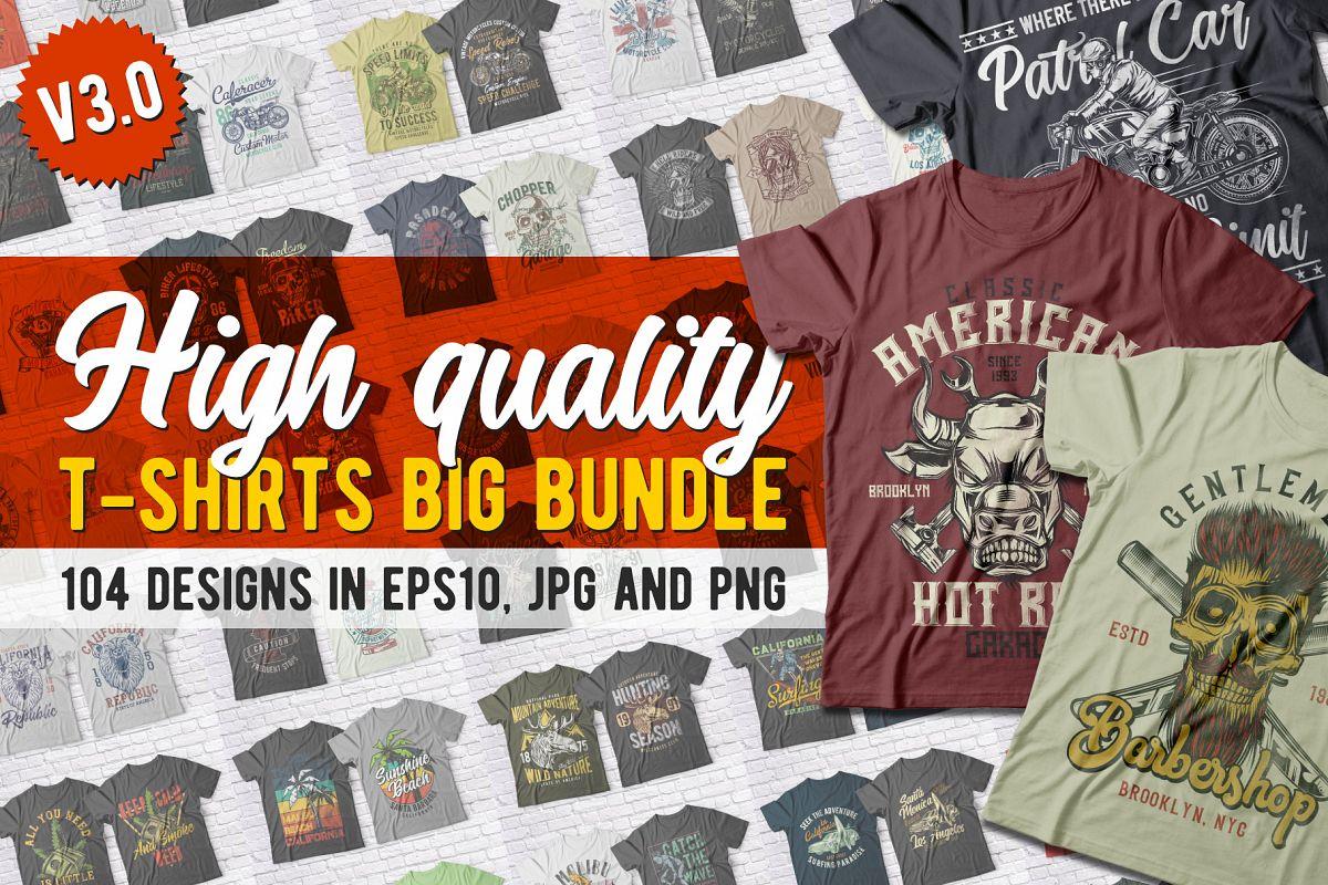 853f4e36e High Quality T-shirts BUNDLE example image 1
