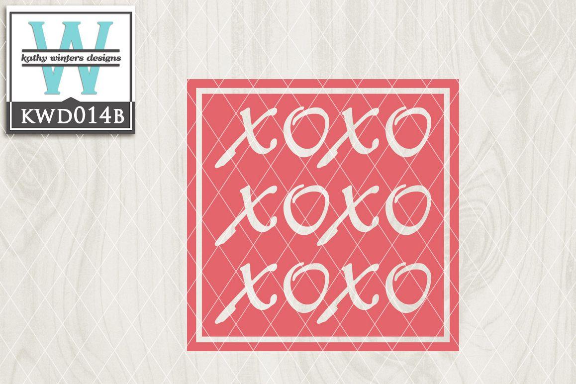 Valentines Cutting File KWD014b example image 1