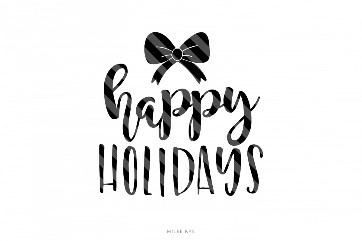 Christmas cutting file, SVG, PNG, EPS, DXF example image 1