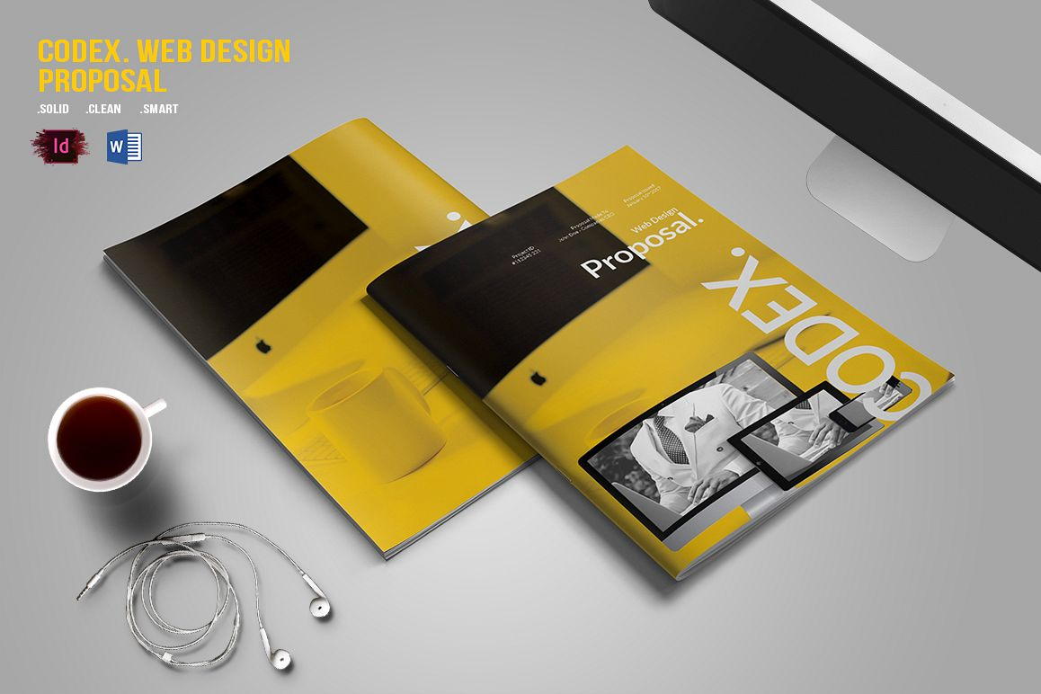 CODEX. Web Design Proposal example image 1