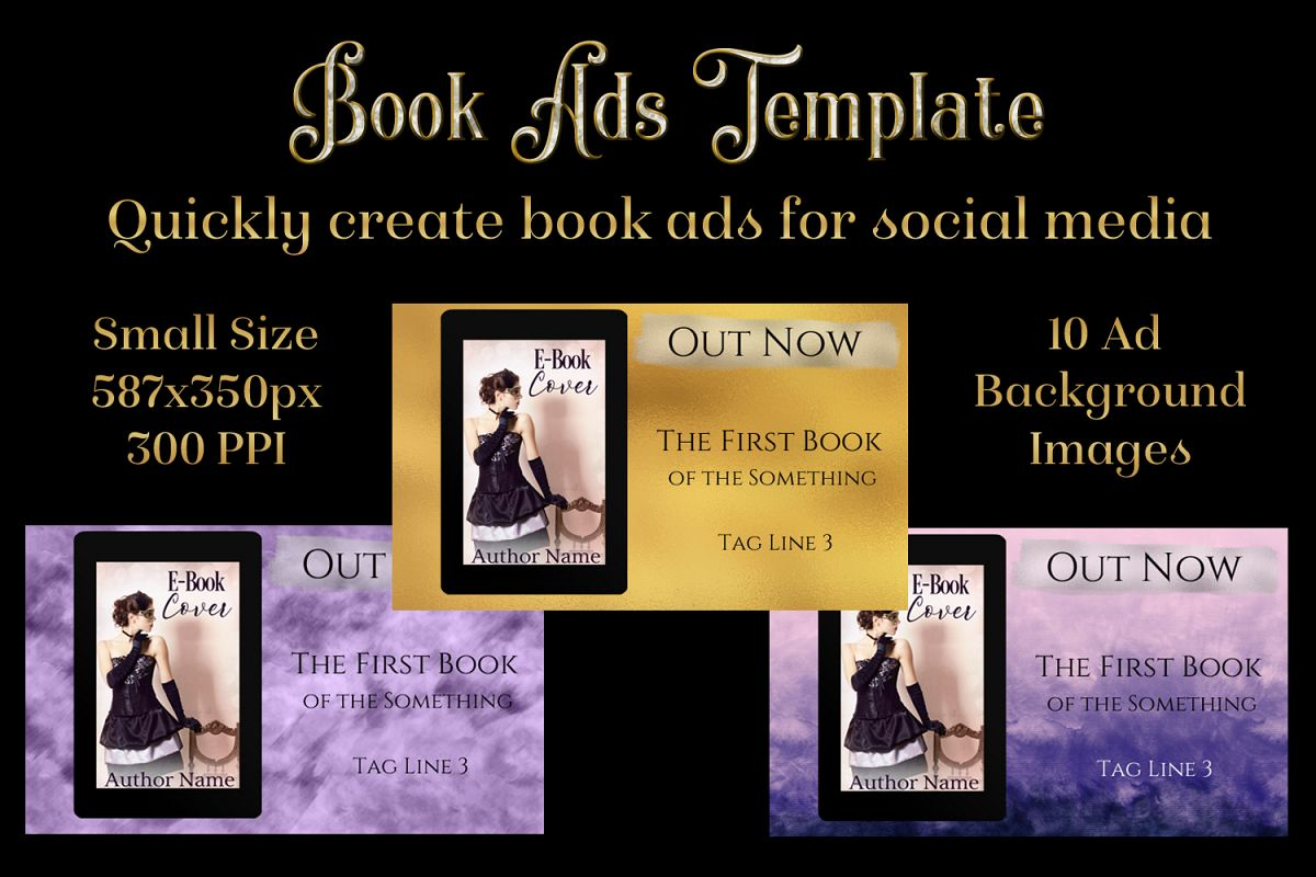Book Ads Template - Create Book Ads for Social Media example image 1