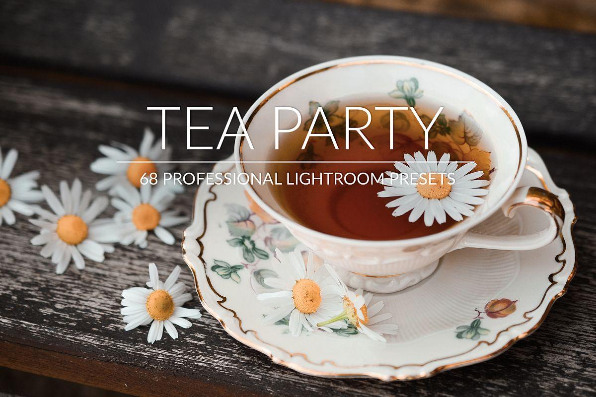 Tea Party Lr Presets example image 1