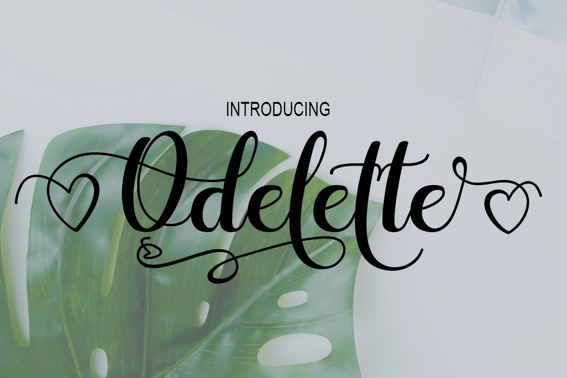 Odelette example image 1