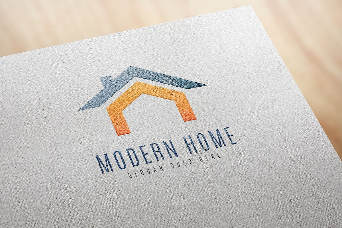 Modern Home Logo example image 1