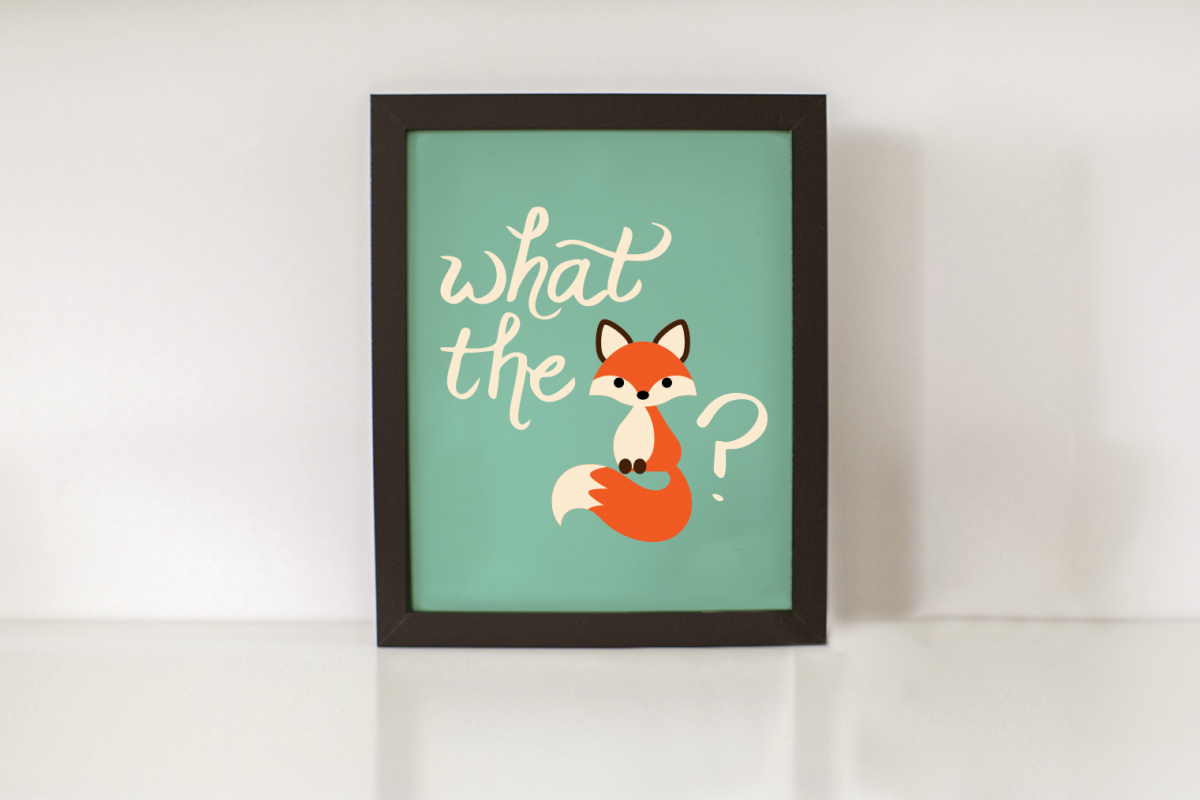 What the Fox SVG Design example image 1