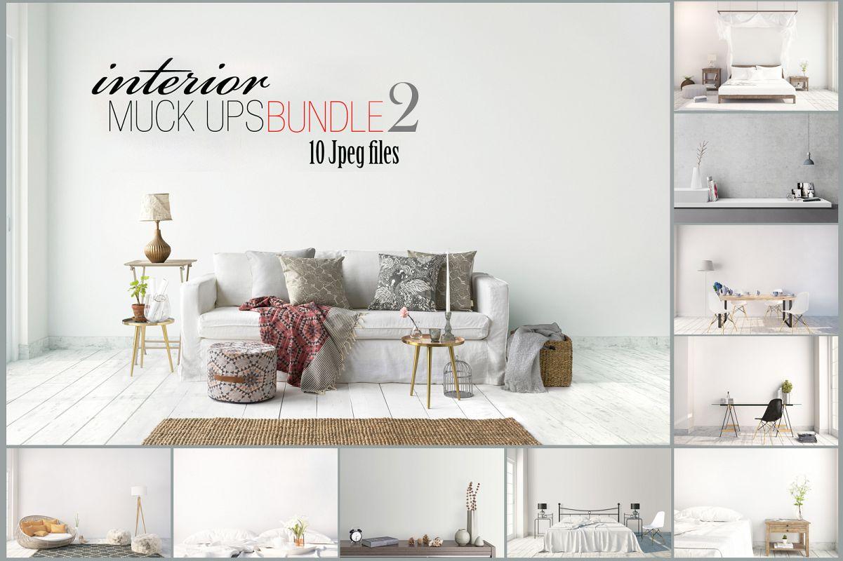 interior mockups bundle stock photo ex&le image 1  sc 1 st  Design Bundles & interior mockups bundle stock photo