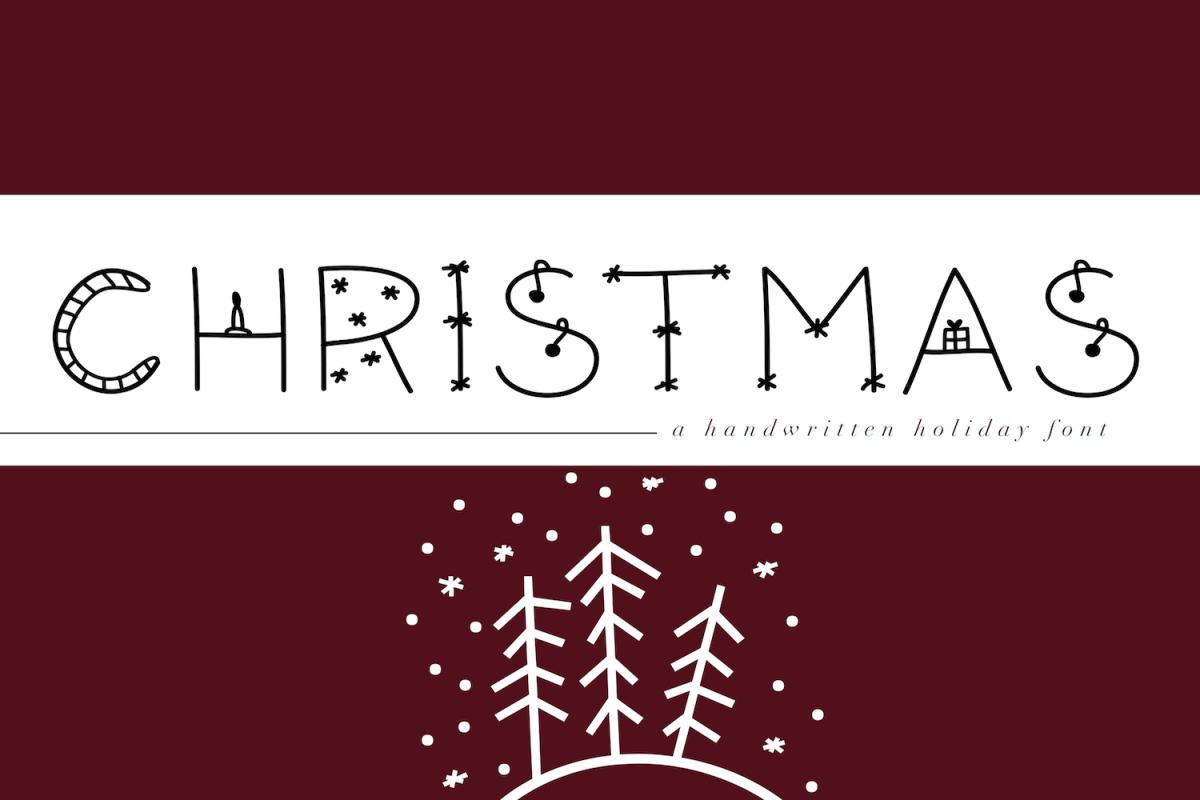 Christmas - A Fun Christmas Font example image 1
