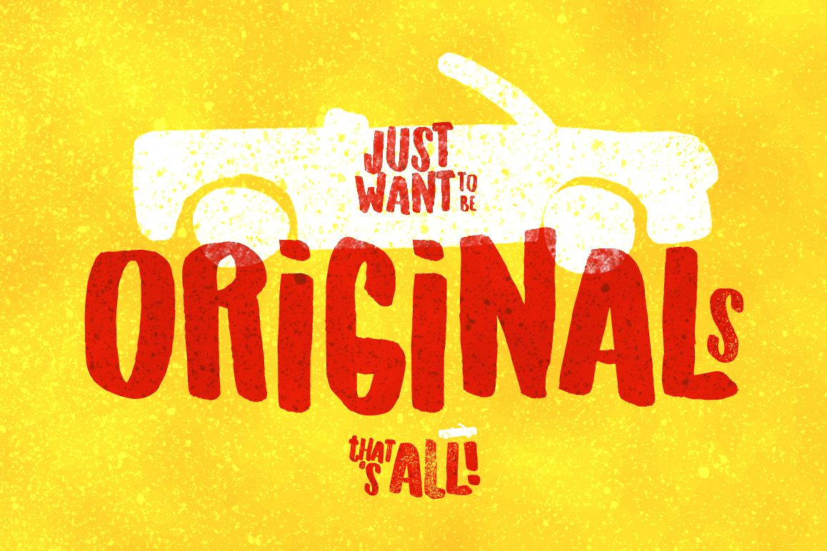 Originals Typeface example image 1