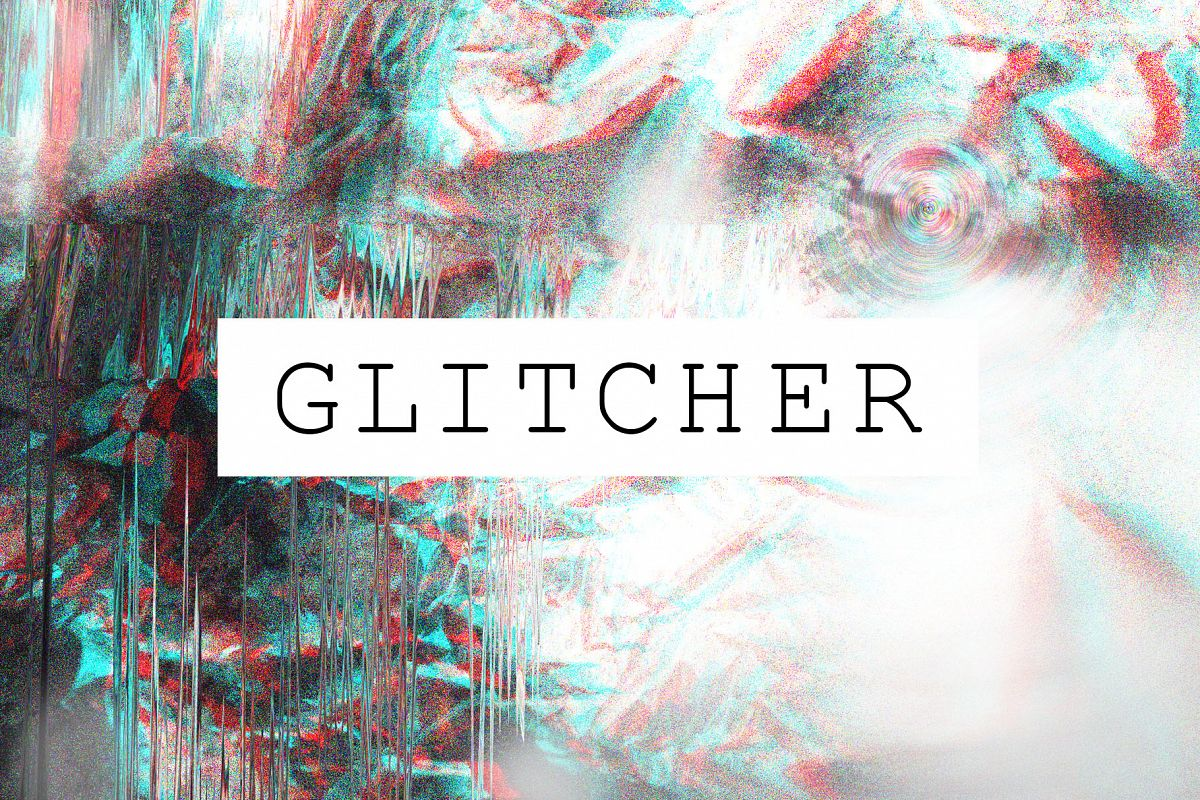 Glitch Effect Textures example image 1