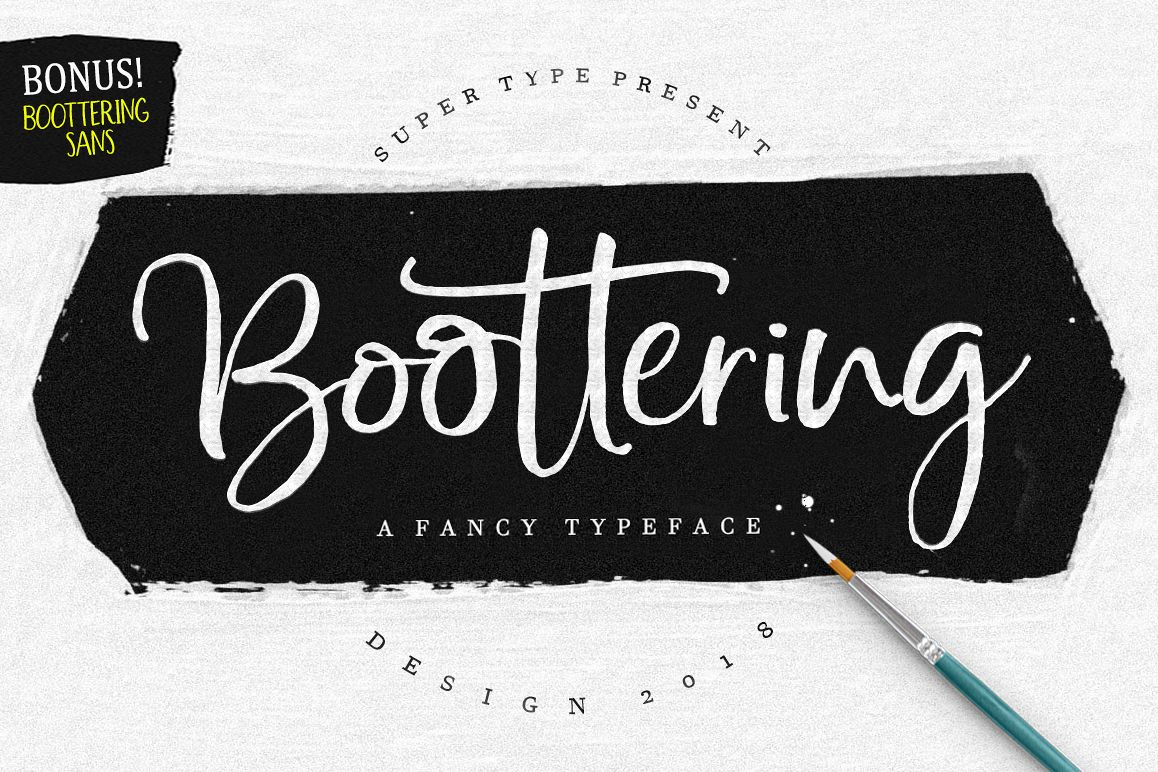 Boottering | Font Duo example image 1