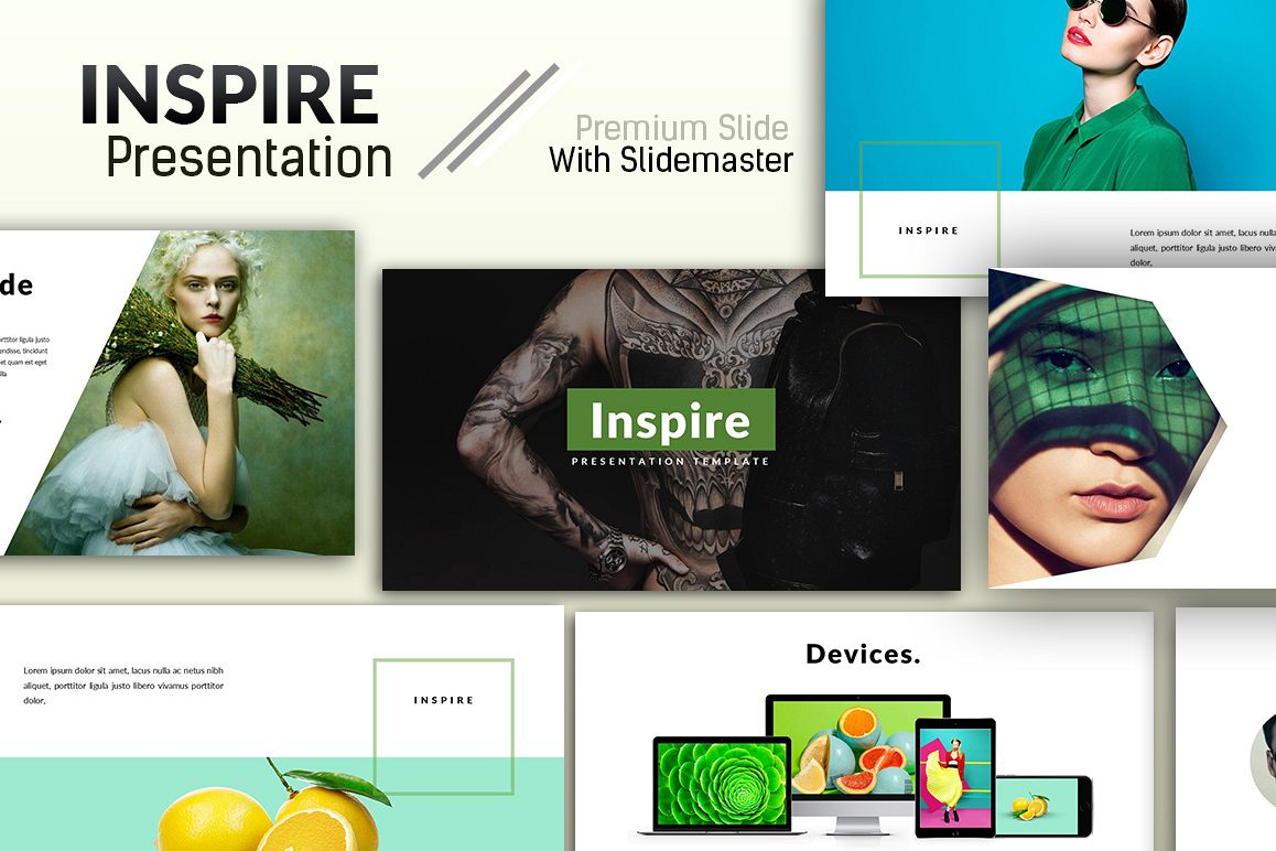 Inspire Creative Presentation example image 1