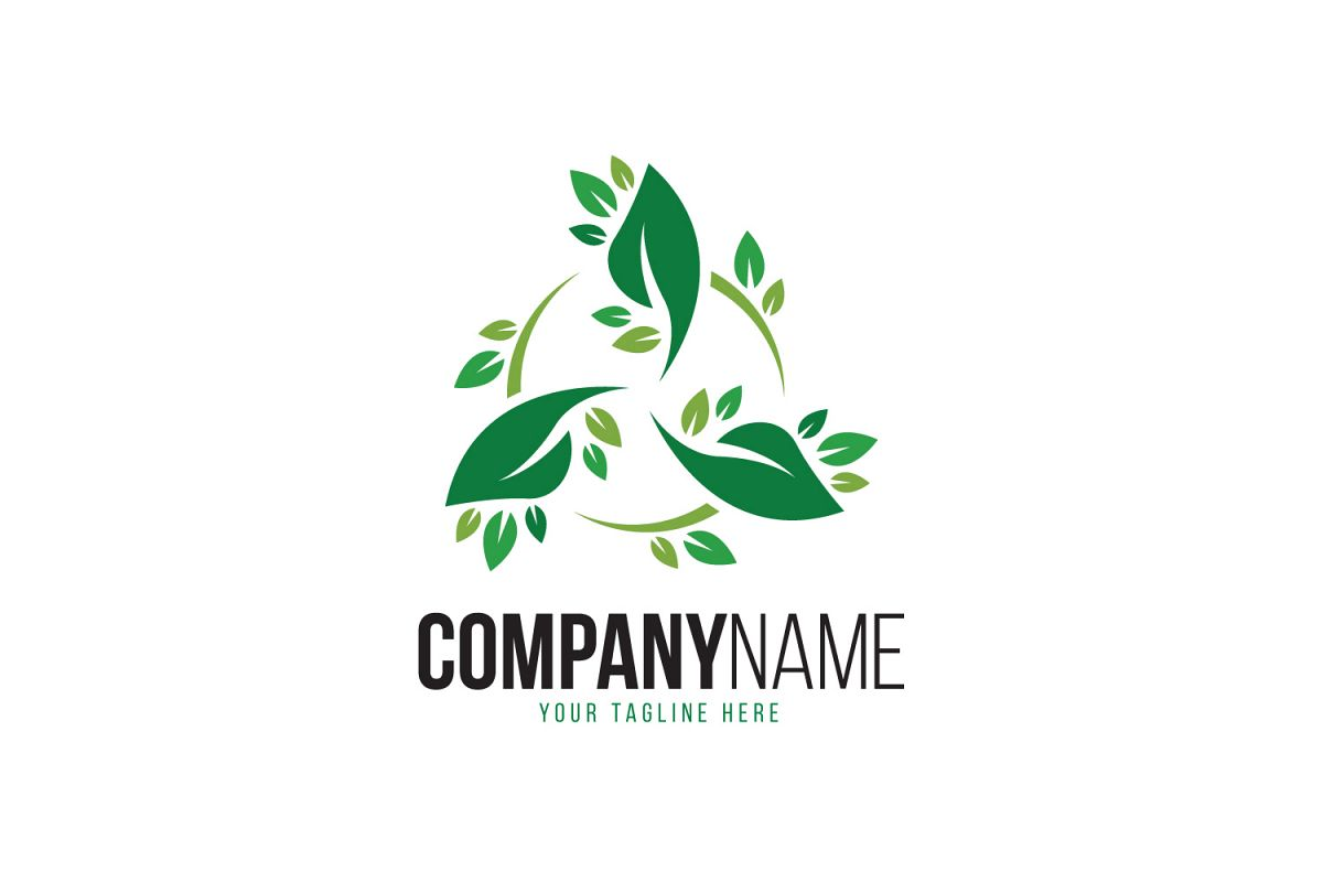 Trio Leaf Logo example image 1