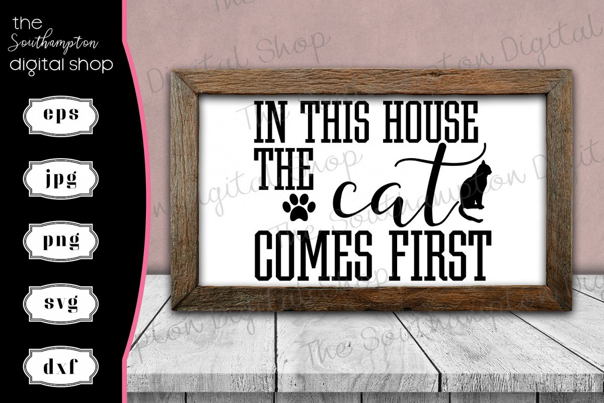 In This House the Cat Comes First example image 1