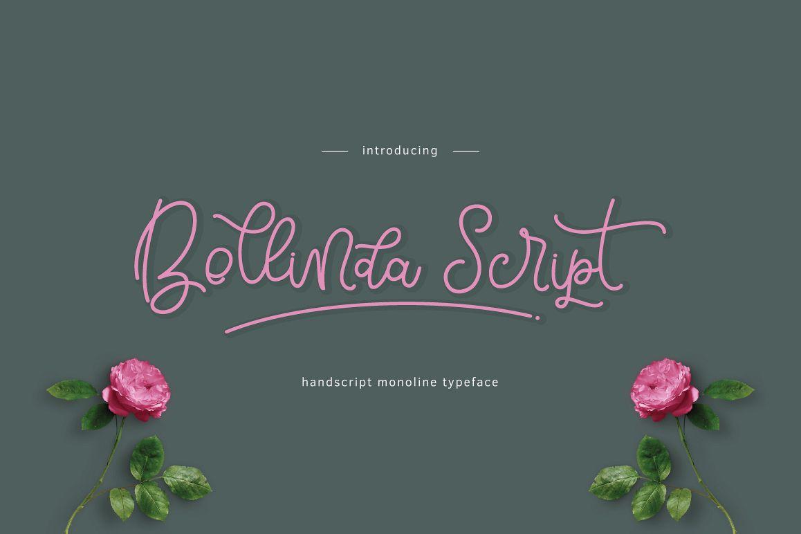 Bellinda Script example image 1