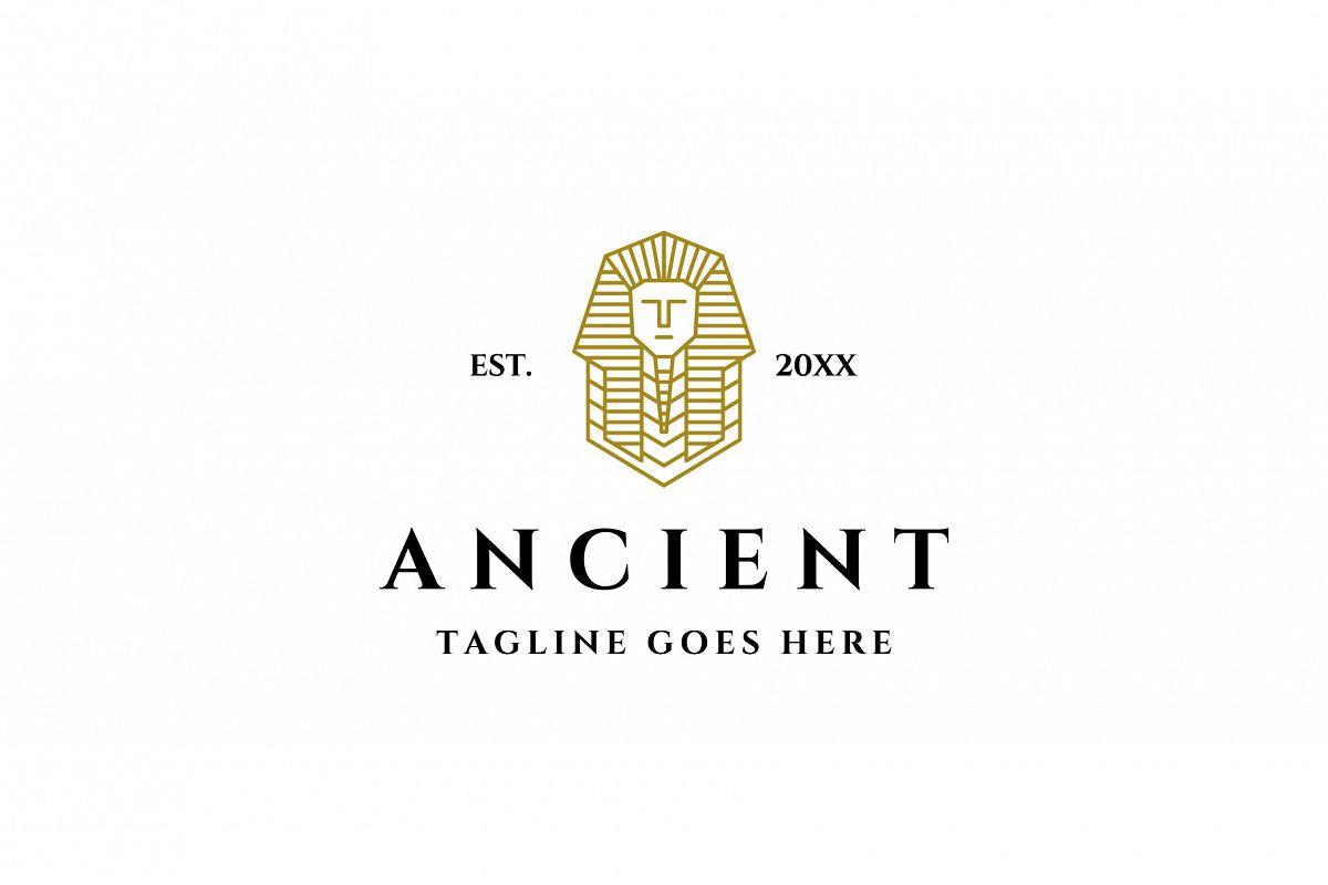 egyptian ancient god logo example image 1