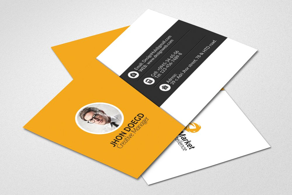 Business Cards Psd Templates example image 1