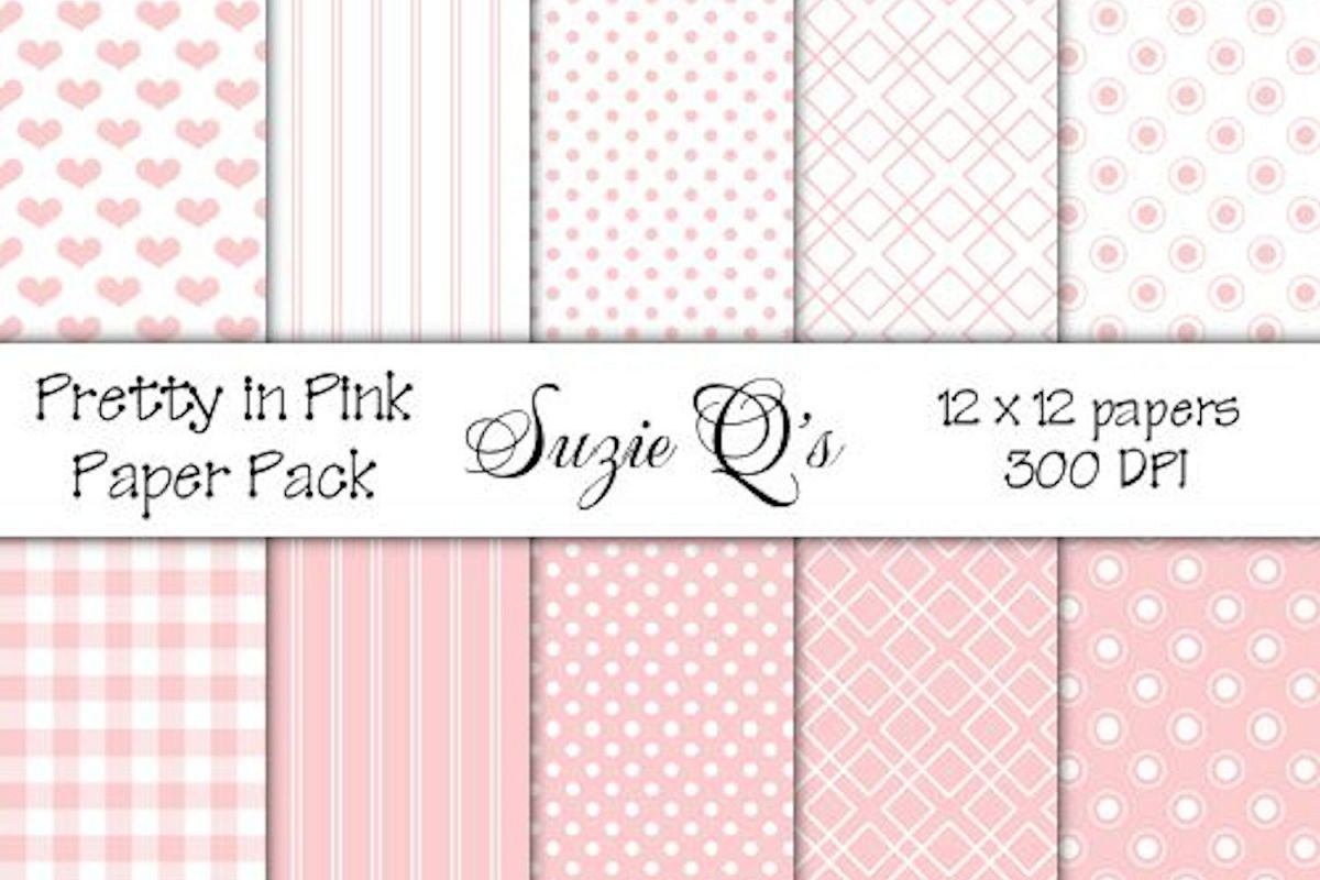 Pretty In Pink Paper Pack example image 1