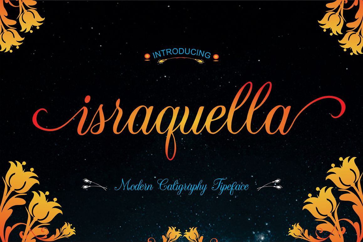Israquella Script example image 1