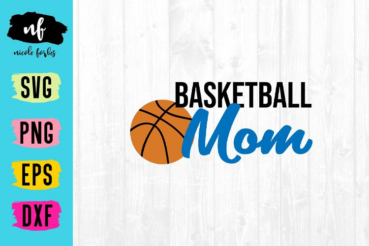 Basketball SVG Cut File example image 1
