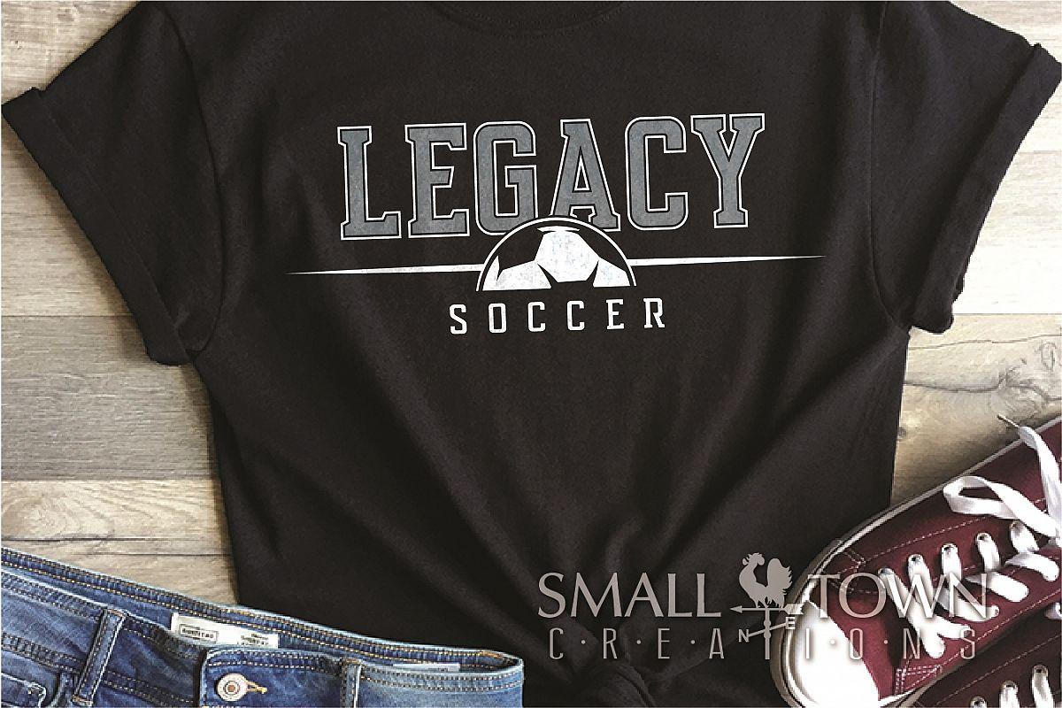 Legacy, Soccer, Sports, Team, logo, PRINT, CUT & DESIGN example image 1