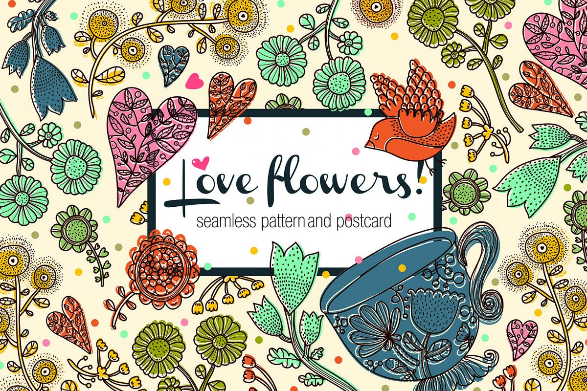 Love flowers. example image 1