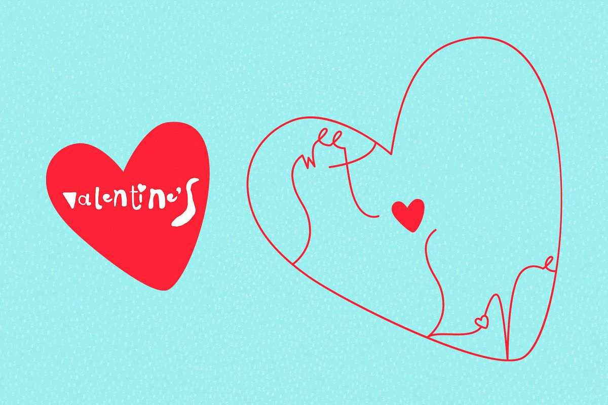Valentine's Day Vector_part 08 example image 1