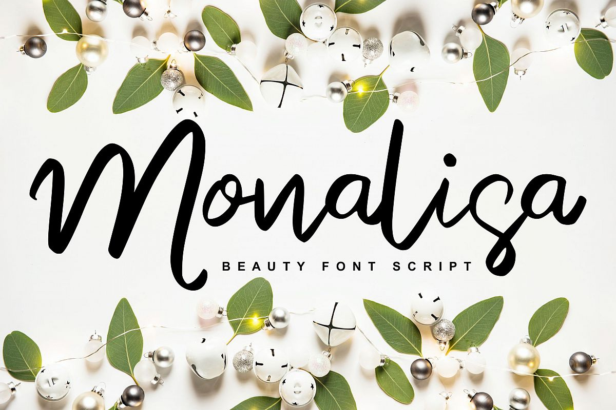 Monalisa | Beauty Script Handwritten example image 1