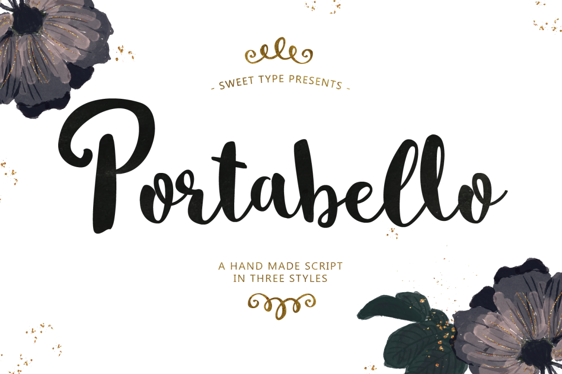 Portabello Script example image 1