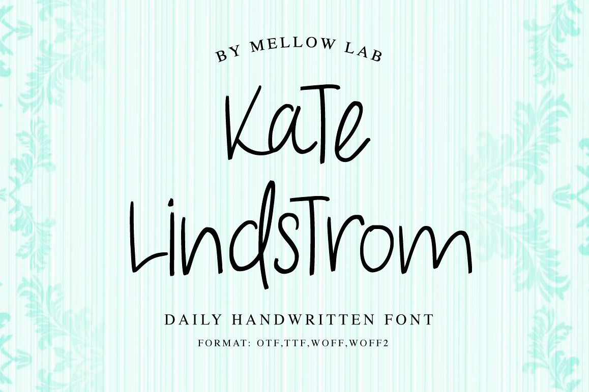 Kate Lindstrom Script example image 1