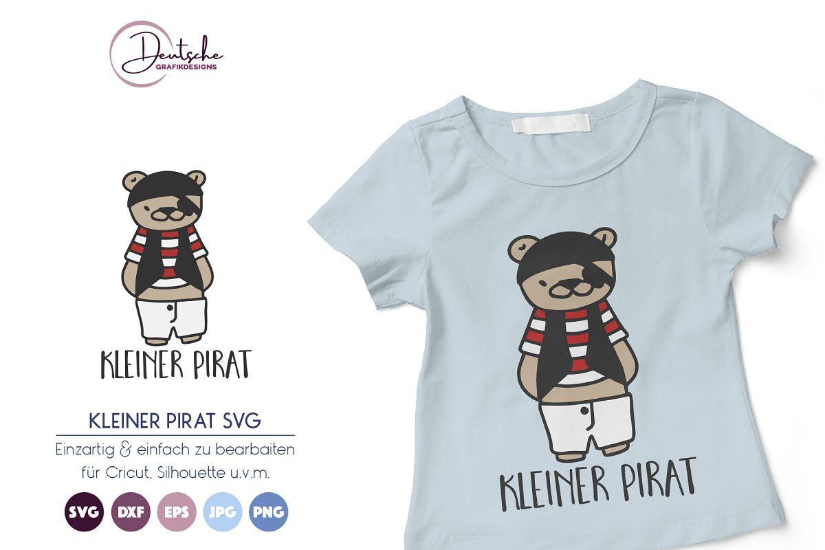 Kleiner Pirat SVG | Bär example image 1