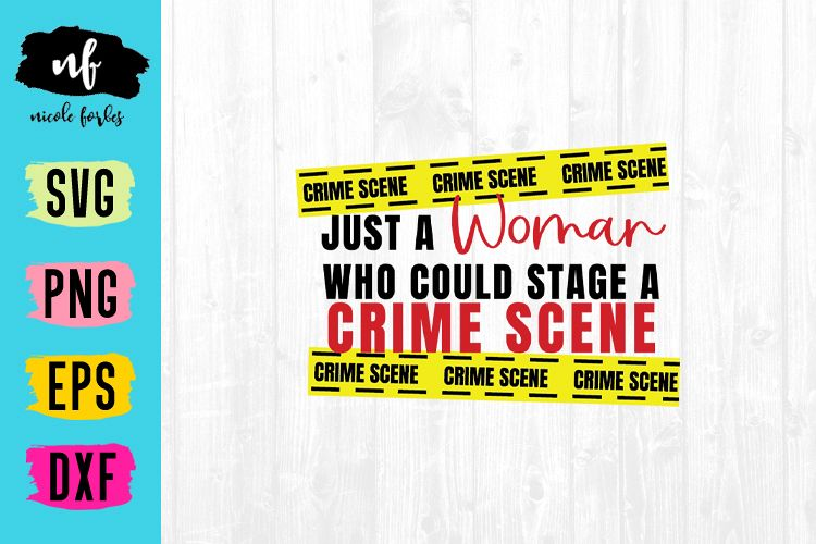 True Crime SVG File example image 1