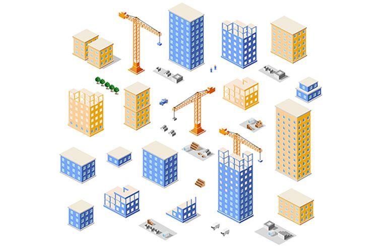 Set Crane construction example image 1
