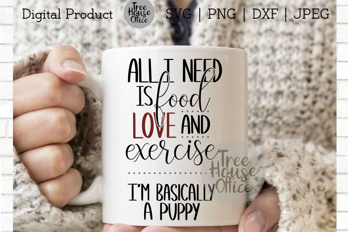 Funny Puppy Dog Svg, Sarcastic Saying, Dog Mom PNG JPEG DXF example image 1