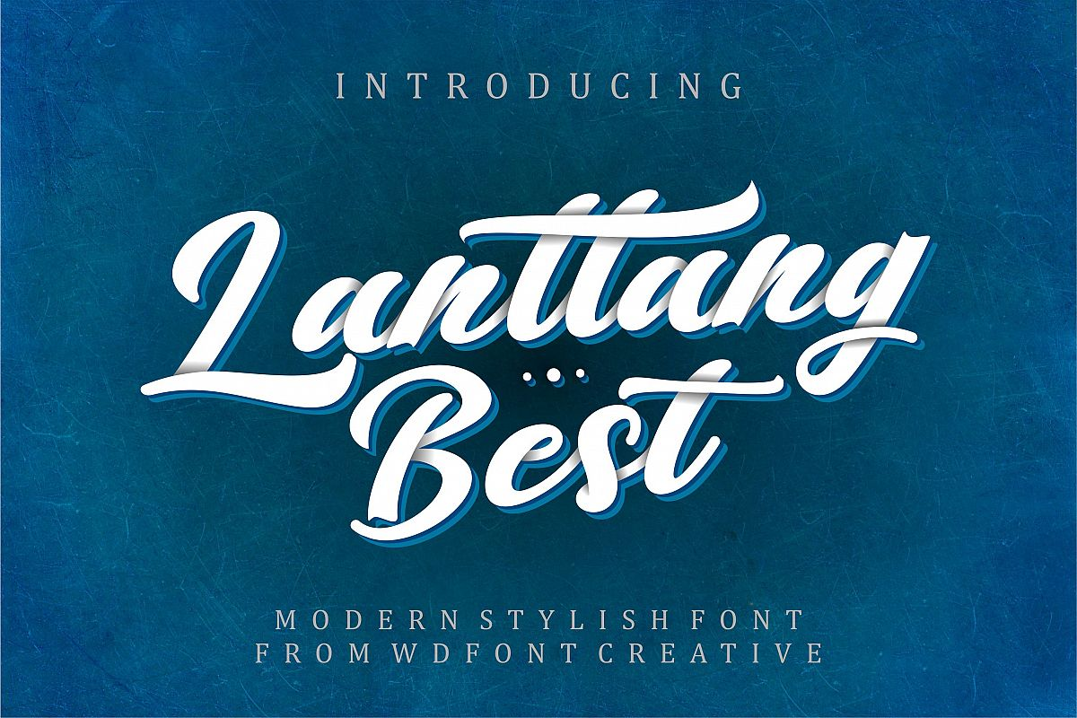Lantang Best | Modern Stylish Font example image 1