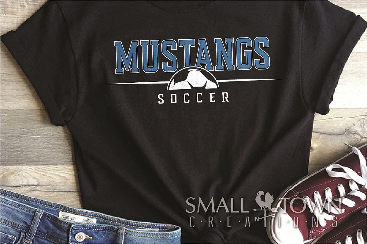 Mustang, Mustang Soccer Team, Sport, PRINT, CUT & DESIGN example image 1