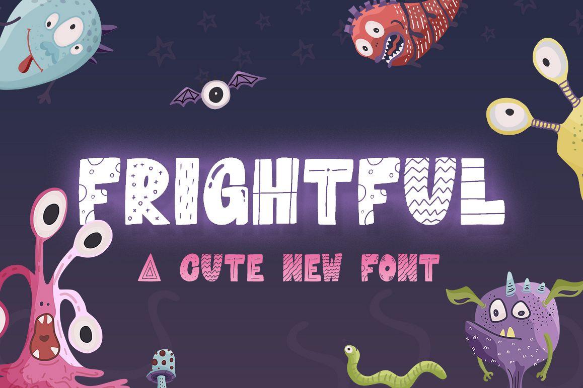 Frightful Font example image 1