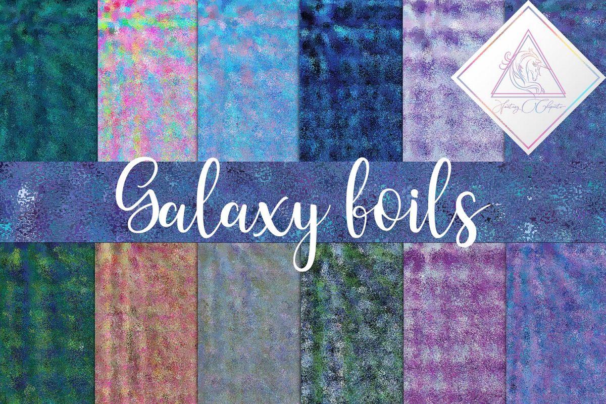 Galaxy Foils Digital Paper example image 1