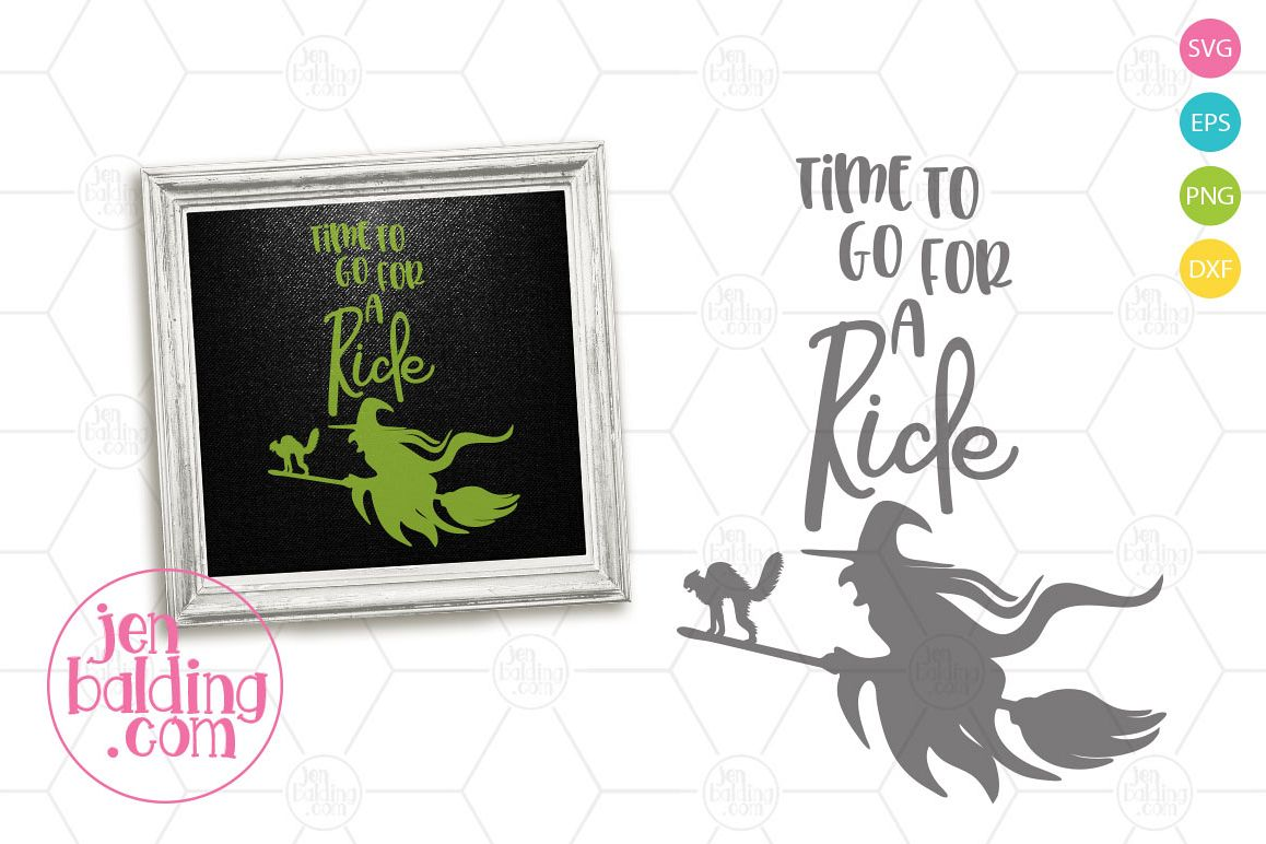 Broom Ride SVG example image 1
