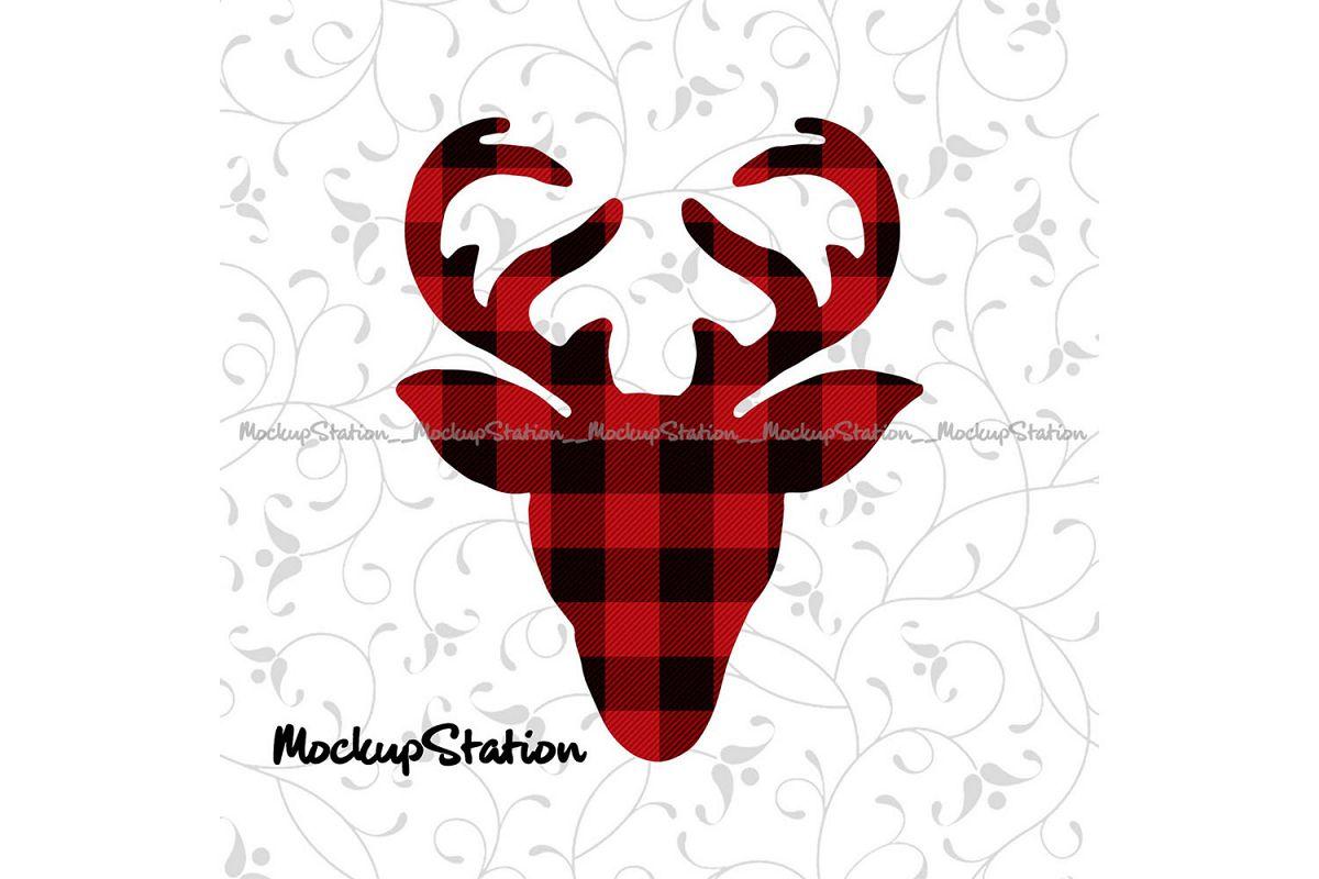 Christmas Reindeer Png.Christmas Reindeer Head Sublimation Design Transfer File Png