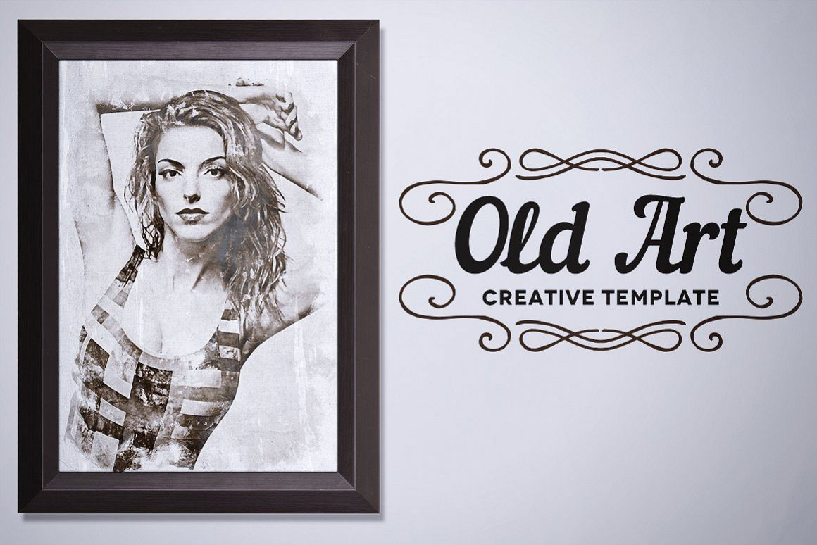 Old Art - Creative Template example image 1