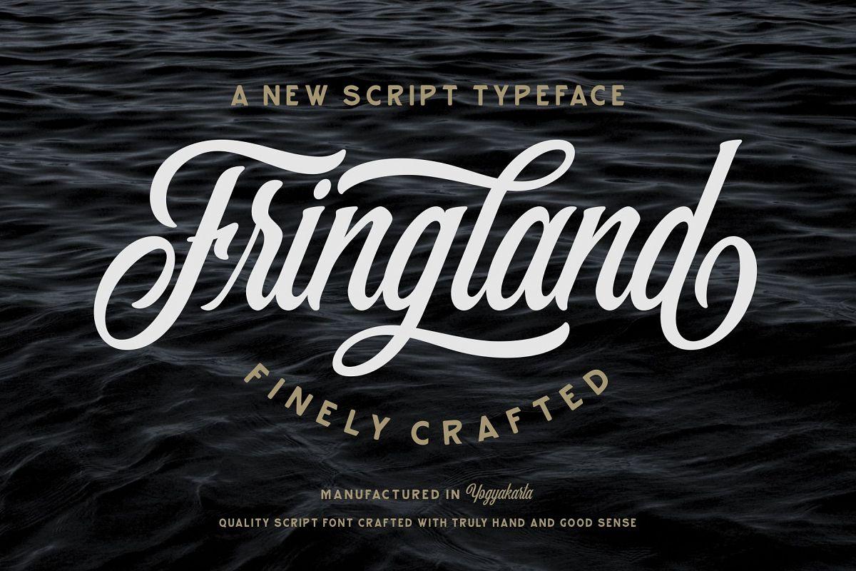 Fringland Script example image 1