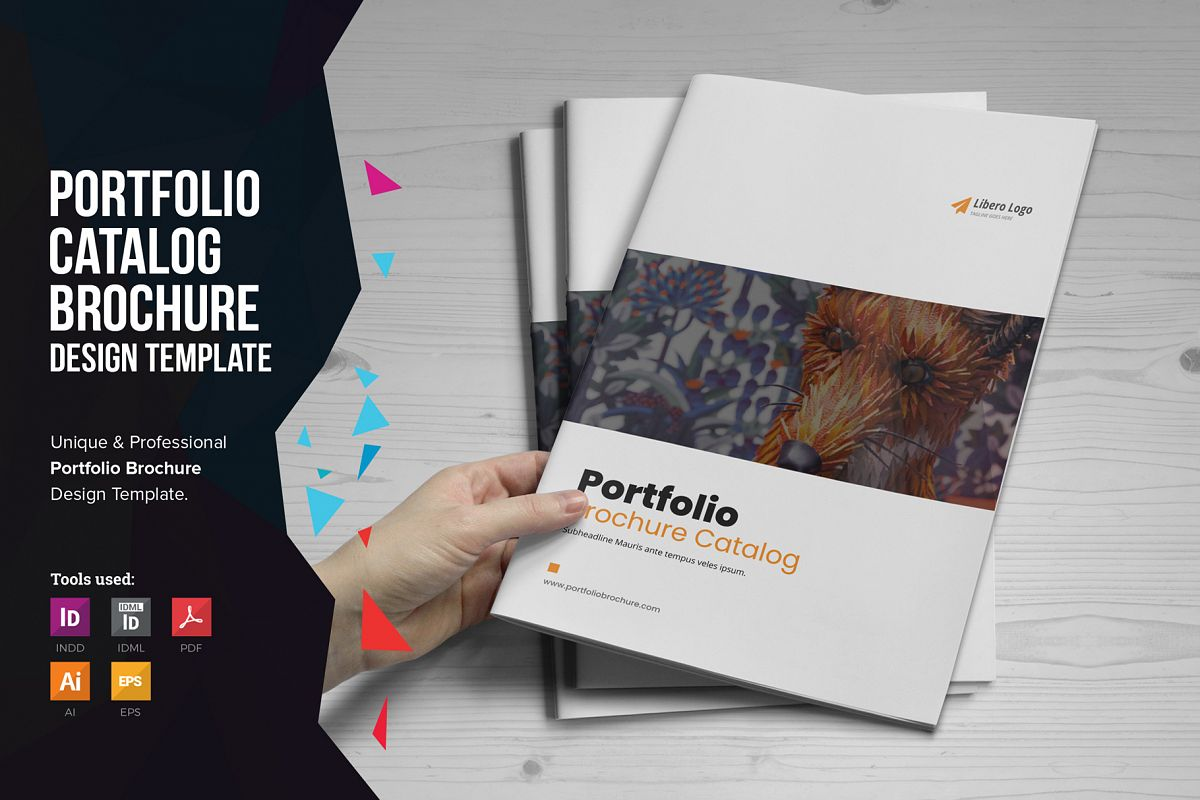 Portfolio Brochure Design v4 example image 1