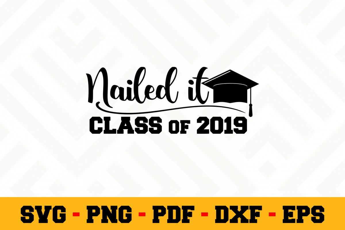 Graduation SVG Design n589 | Graduation SVG Cut File example image 1