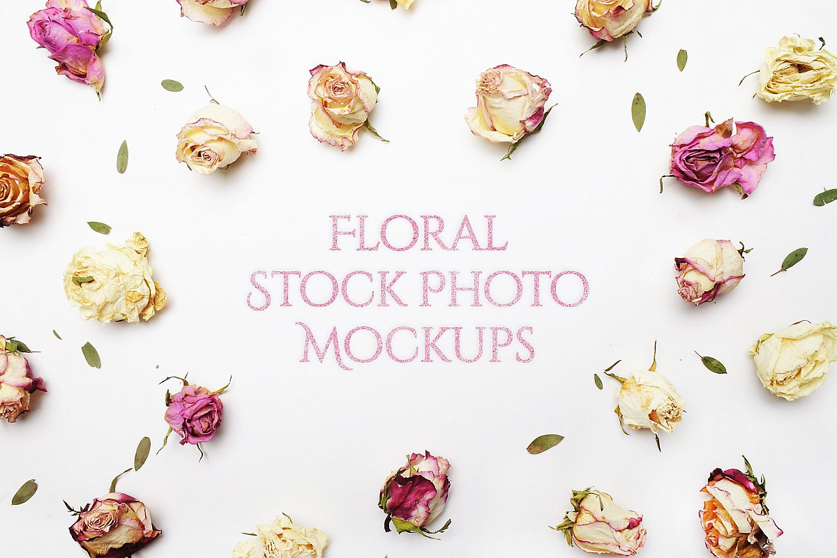 Floral Mockup Pack example image 1