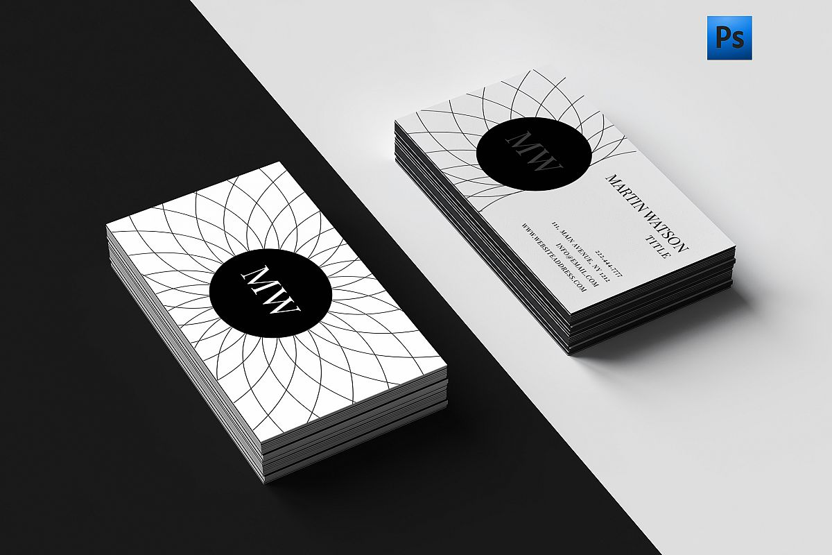 Clean Classy Business Card