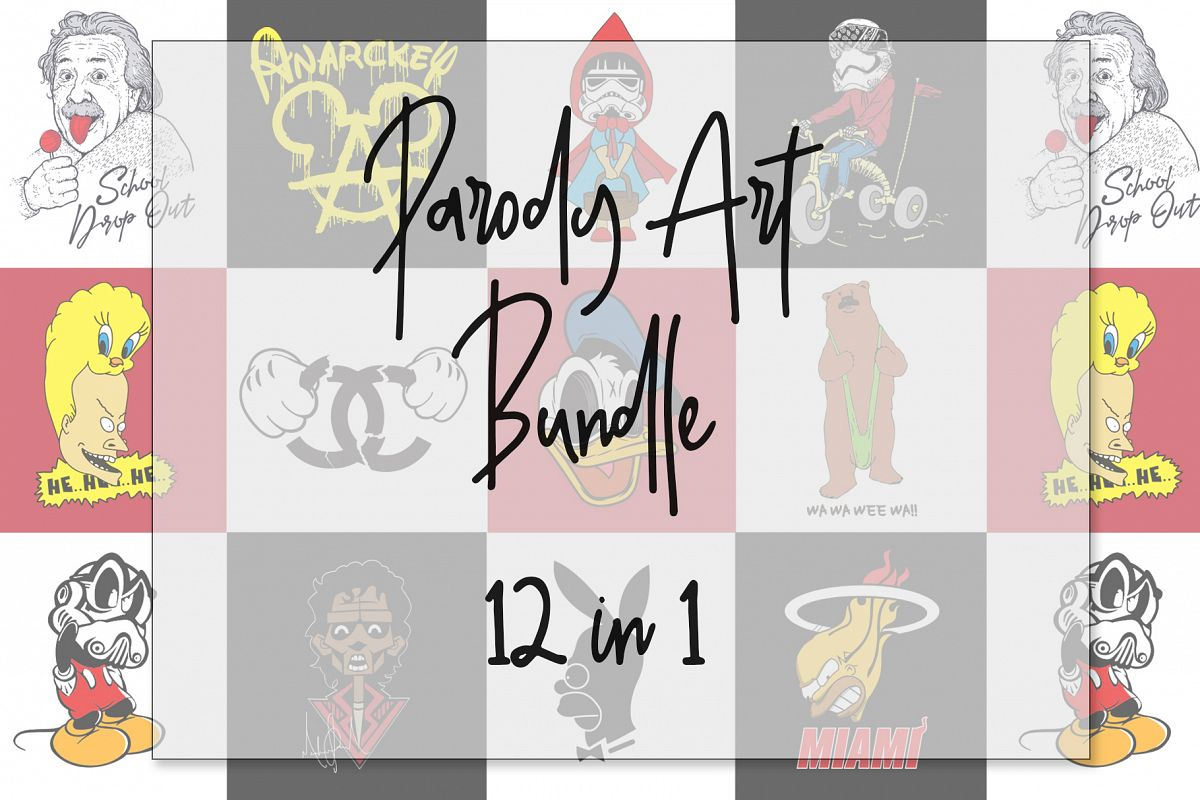 Parody Art 12 in 1 Bundle example image 1