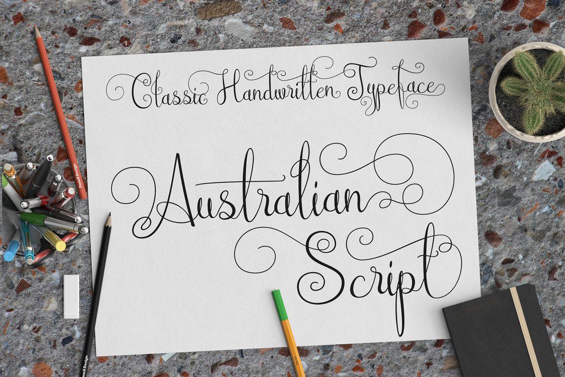Australian Script example image 1