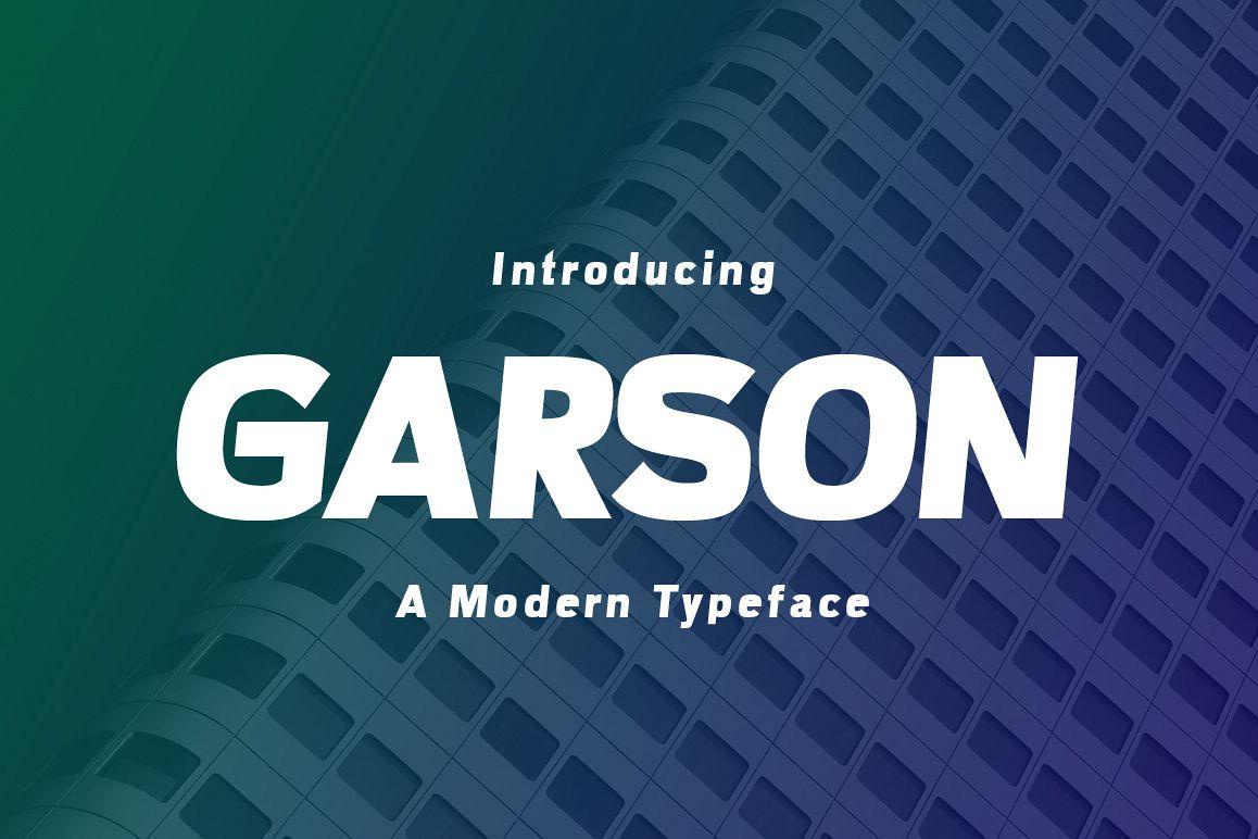 Garson example image 1
